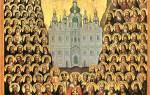 Молитва всем святым и бесплотным небесным силам на русском