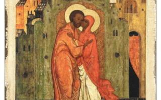 Молитва о даровании чада анне