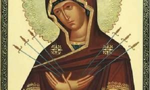 Умягчение злых сердец и семистрельная молитва к ней