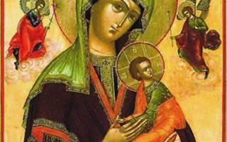 Молитва акафист страстная божией матери