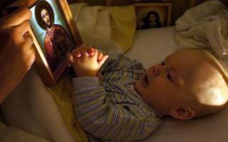 Во сне молитва