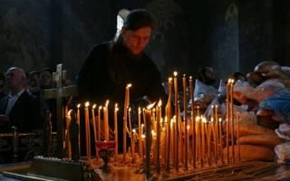 Молитва сорокоуст упокоении