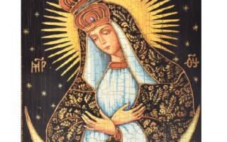 Молитва остробрамской божьей матери космопроводник